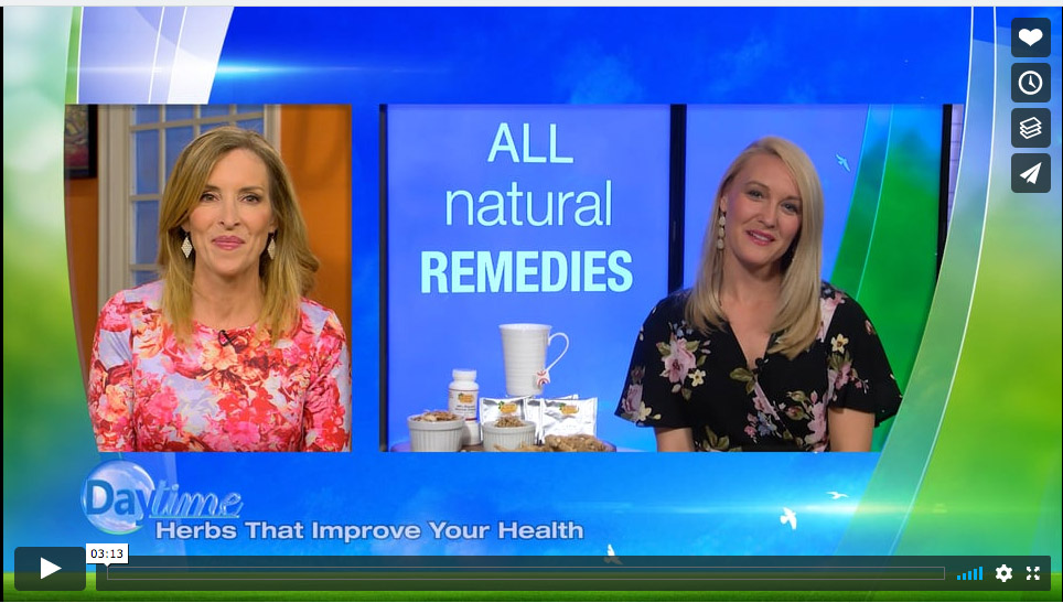 "The Ginseng Board of Wisconsin ""Herbs That Improve Your Health"" on Daytime"