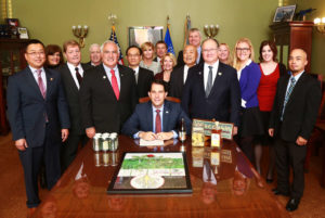 Governor Walker Signs Bill to Make Ginseng the State Herb